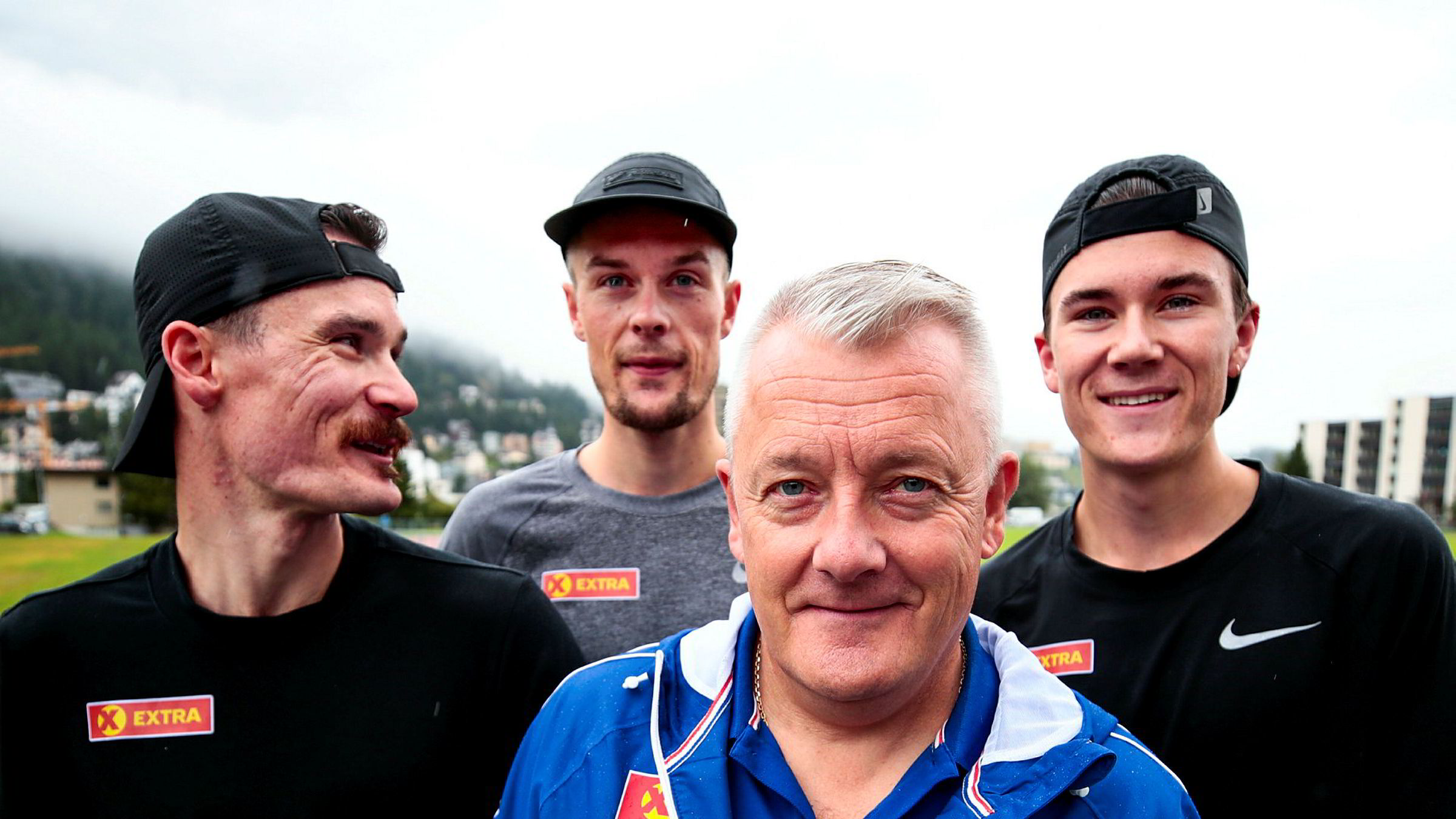 Mens far og trener Gjert Ingebrigtsen har kommandert fra sidelinjen, har Henrik (fra venstre), Filip og Jakob Ingebrigtsen løpt seg inn i det norske folks hjerter.