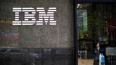 Teknologikjempen IBM gjør det sterkt.