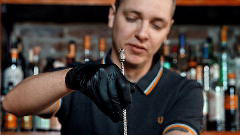 Son, James' Son! Øystein Brandal Gaasemyr tilbereder sin favoritt fra menyen.