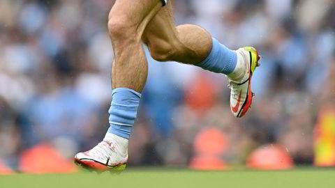 Verdifulle legger. Jack Grealish har store sokker å fylle i Manchester City, etter at klubben betalte 100 millioner pund for ham. Her i kamp mot Norwich i september.