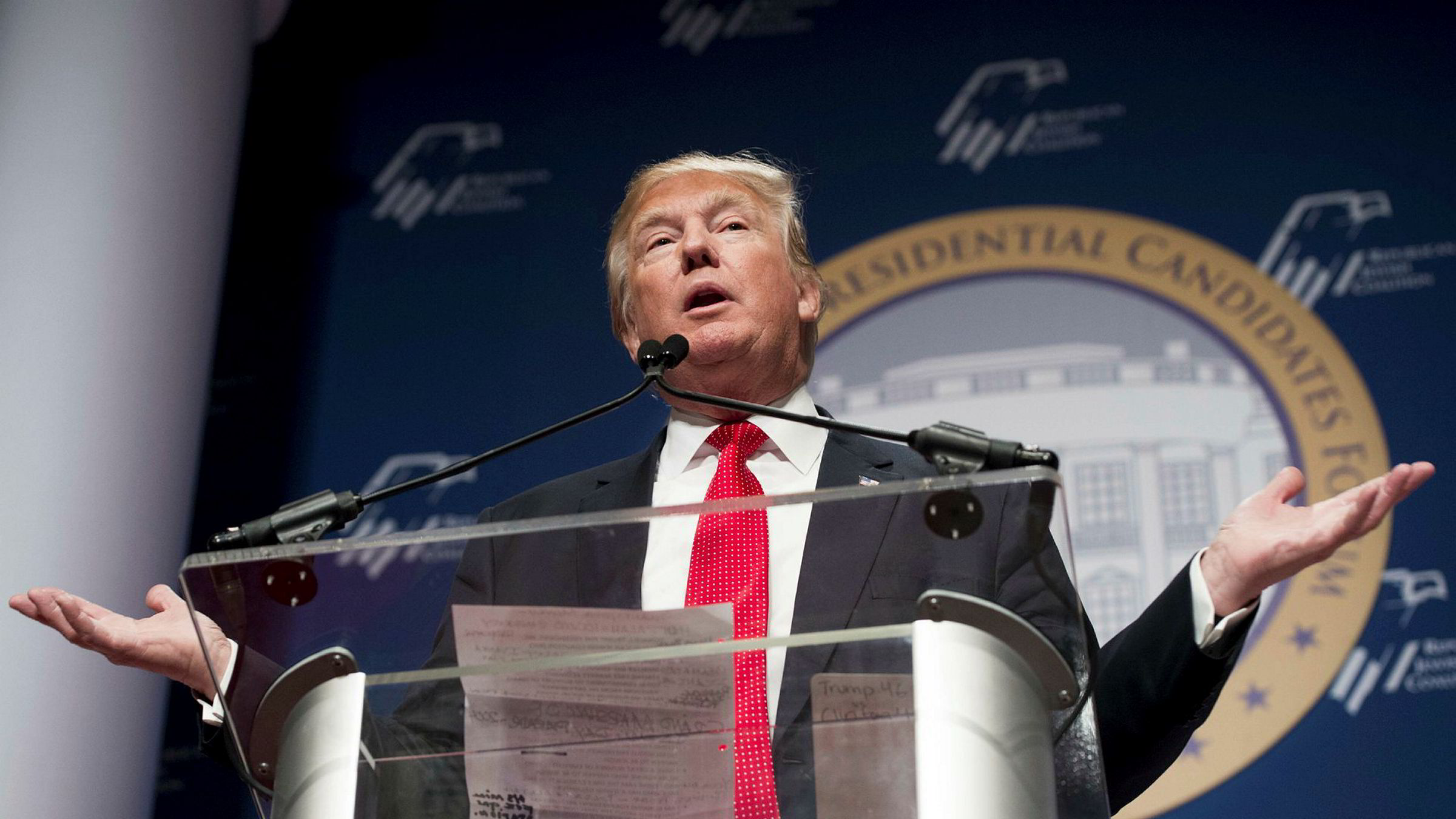Donald Trumps lege sier Trump dikterte sin egen legeerklæring.
