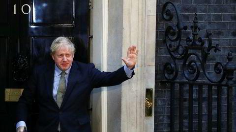 Statsminister Boris Johnson oppfordret britene til samhold og å legge den bitre striden bak seg.