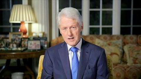 Tidligere president Bill Clinton kritiserte president Donald Trumps bruk av sosiale medier.