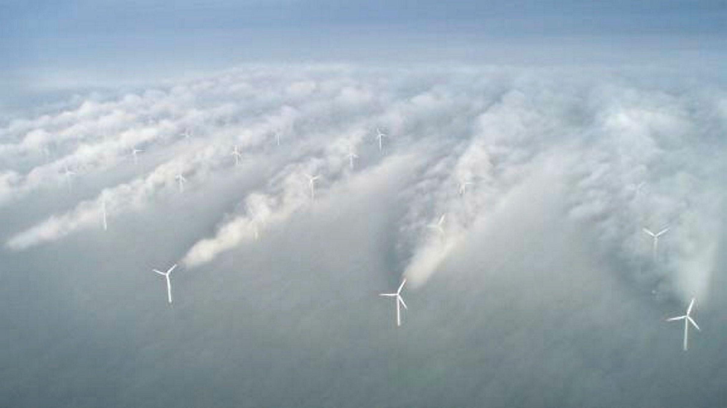 To ulike vind-effekter har større effekt på energiproduksjonen i vindemølleparker enn tidligere antatt, ifølge danske Ørsted.