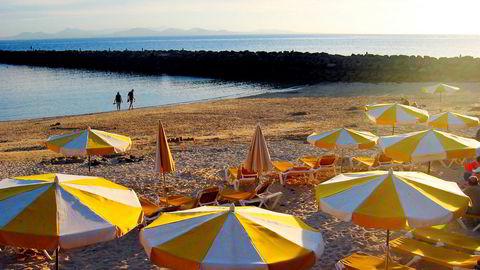 Bildet er fra Lanzarote i Spania.