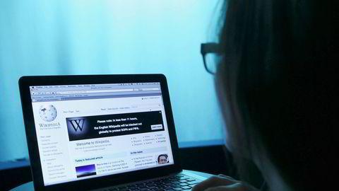 Når så mange leser Wikipedia, er det faktum at vi ikke kan stole på det, en utfordring, skriver artikkelforfatteren. Illustrasjonsfoto.