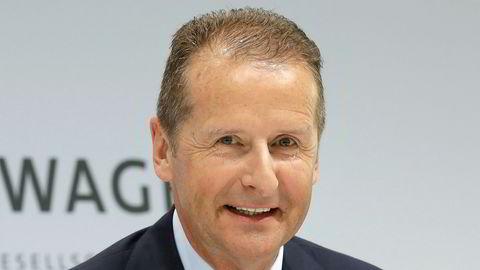 Herbert Diess blir Volkswagen-sjef. Foto: AP Photo/Michael Sohn