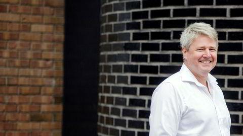 Grunnlegger Richard Espeseth i Hydrogenpro har grunn til å smile.