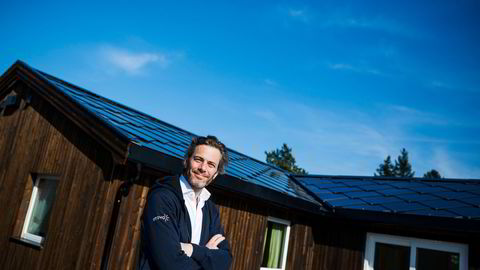 – I år har vært en av de beste somrene på lenge med 20 prosent mer sol enn det har vært i snitt de fem siste årene, sier administrerende direktør Andreas Thorsheim i solcelleselskapet Otovo.