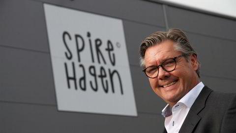 Frode Berner Hope er kontrollerende aksjonær og styreleder i spireprodusenten Spirehagen.