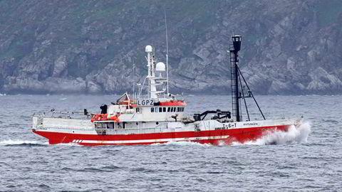 Den tidligere selfangstbåten «Kvitungen» brukes nå i fisket etter krabbe.