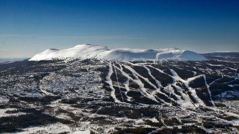 Skistar står for alpintanlegg i Åre, Sälen, Hemsedal og Trysil, her et oversiktsbilde fra sistnevnte.