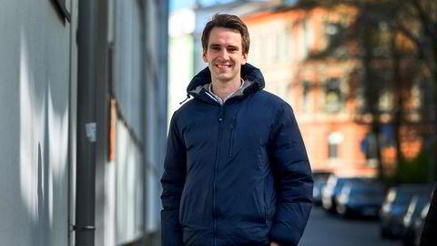 Joachim Sogn investerte i selskapet Resqunit for to år siden, gjennom såkalt aksjebasert folkefinansiering. Sogn kom inn på kurs 3,4, og snart går selskapet på børs med emisjonskurs 9,5 kroner.