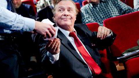 Investor Endre Røsjø tjener fremdeles store penger. Dette bildet er tatt i 2011.