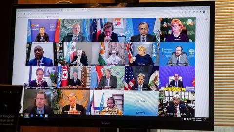 Statsminister Erna Solberg (H) og Norge har gjort atomnedrustning til en av sine prioriteringer i FNs sikkerhetsråd.