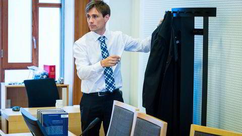 Håvard Kampen (42), førstestatsadvokat og leder for hvitvaskingsteamet hos Økokrim.