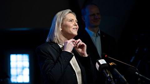 Frps nestleder Sylvi Listhaug blir Frps nye leder på landsmøtet i mai – hvis partiet vil det.