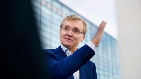 Kolbjørn Haarr i Evry Norge mener prestisjekontrakten med Posten er et resultat av grepene selskapet har tatt siden starten av året. Foto: CF Wesenberg