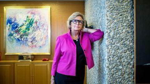 Den profilerte Høyre-politikeren Trude Drevland ble ifjor høst siktet av politiet for grov korrupsjon.  Foto:
