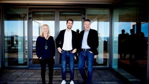 VG Partnerstudioledes av salgssjef Wenche Klundseter, daglig leder Jonas Ibsen Brynildsrud og innholdssjef Svein Arne Haavik.