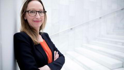 Sjeføkonom Kjersti Haugland i DNB sier at norsk industri opplever en god periode. Det skyldes blant annet en bedring i oljesektoren.