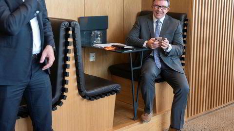 Administrerende direktør Karl Johnny Hersvik i Aker BP asa leder en av de store suksesshistoriene på Oslo Børs de siste årene.