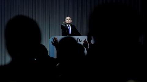 Softbank-sjef Masayoshi Son har tapt over en milliard kroner av sine egne penger på å spekulere i kryptovaluta.
