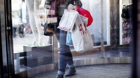 Shopping på kreditt kan bli dyrt hvis du ikke betaler innen 45 dager. Illustrasjonsbilde. Foto: Ida von Hanno Bast