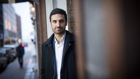 Sjeføkonom Shakeb Syed i Sparebank 1 Markets tror verden unngår at flere potensielle kriser materialiserer seg i år. Foto: Skjalg Bøhmer Vold