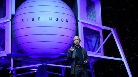 Amazon-grunnlegger lanserer fartøy som skal lande på månen innen 2024.