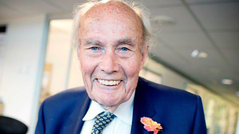 Andreas K.L Ugland døde skjærtorsdag, 93 år gammel