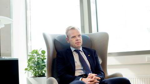 Svein Tore Holsether, konsernsjef i Yara.
