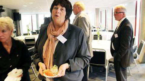 BEKYMRET. Oljedirektoratets sjef Bente Nyland mener norsk sokkel har rikelig med ressurser, men hun bekymrer seg for at høye kostnader og utsettelser skal føre til at olje blir liggende igjen. Foto: Jostein Løvås