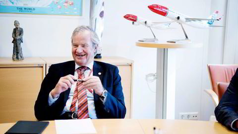 Bjørn Kjos kjøper fly i stor stil. Foto: Mikaela Berg