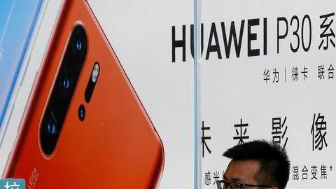 Huawei tar markedsandeler i hjemmemarkedet Kina og øker salget av smarttelefoner til tross for sanksjoner fra USA. Veksten har falt kraftig fra første kvartal for teknologikjempen. Konkurrentene Samsung og Apple sliter også.