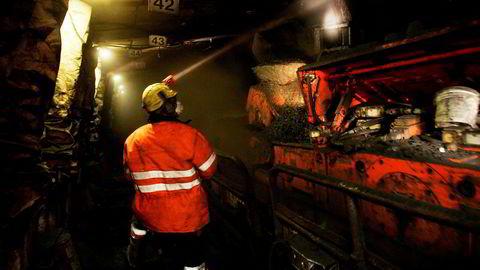 Svea- og Lunckefjell-gruvene på Svalbard har fått nådestøtet av regjeringen. Her fra Svea.