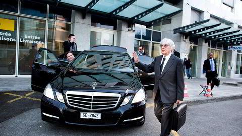 AUTORITET. Bernie Ecclestone blir beskrevet som Formel 1s ubestridte «enehersker» og «tsar». Foto: Fredrik Solstad