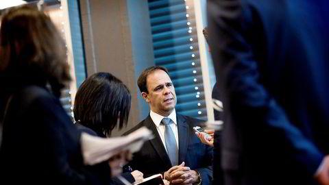 – Aktiviteten i Norge er tydelig på vei opp, og det er en klar fordel for oss at vi har en sterk posisjon i dette markedet, sier Aker Solutions-sjef Luis Araujo.