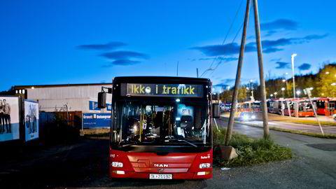 MAN leverte busser til Unibuss etter at flere ansatte hadde latt seg bestikke av bussprodusenten                     Foto: Krister Sørbø /