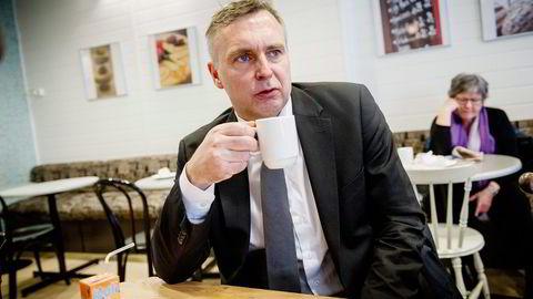 Konsernsjef Sven Ombudstvedt i Norske Skog. Foto: Gorm K. Gaare