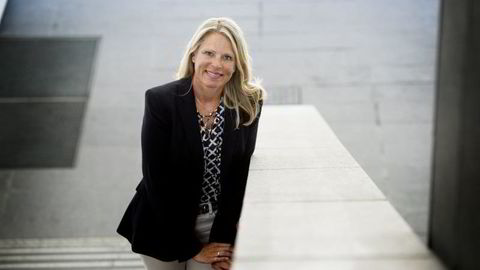 HR-direktør Solveig Hellebust i DNB etterlyser mer teknologikompetanse hos nyutdannede. Foto: Skjalg Bøhmer Vold