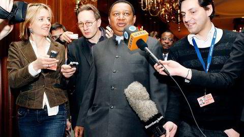 Mohammed Barkindo ble torsdag utnevnt til Opecs nye generalsekretær. Han får en tøff jobb med å samle medlemmene om en produksjonsavtale. Her fra et Opec-møte i Wien i 2009. Foto: Adam Berry/