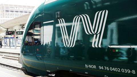 OSLO 20190312. Under presentasjonen av nytt felles navn for NSB og Nettbuss. Det nye navnet ble VY Foto: Berit Roald / NTB scanpix ---