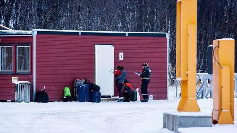Norge kan sannsynligvis glemme å få returnert noen av de rundt 5000 asylsøkerne som kom fra Russland over Storskog ifjor høst. Foto: Adrian Nielsen