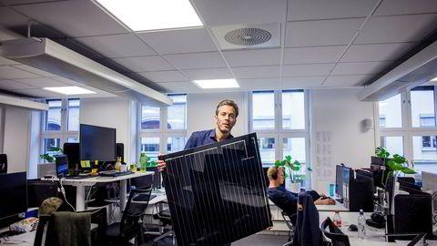 – Vi selger solceller fra et nettverk av installatører. Dette har vi gjentatte ganger forelagt dokumentasjon på for Hafslund, sier administrerende direktør i Otovo, Andreas Thorsheim.