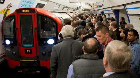 Det florerer med multiresistente bakterier på offentlige steder i London, blant annet undergrunnen «The tube».