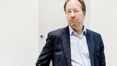 SSB-sjef Hans Henrik Scheel .