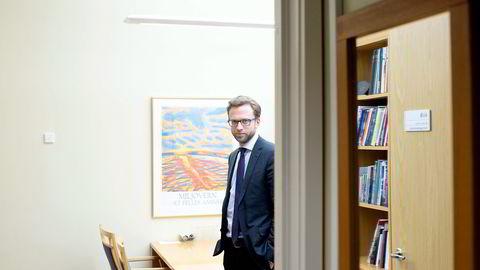Høyres Nikolai Astrup har størst formue på Stortinget, men Arbeiderpartiets stortingsgruppe har flest representanter med betydelige millionformuer, ifølge skattelistene. Foto: