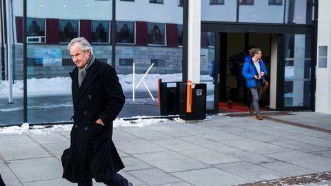 Bjørn Kjos konsernsjef i Norwegian har holdt et foredrag som flere ganger ble avbrutt av applaus og latter på luftfartskonferanse på Stormen i Bondø.