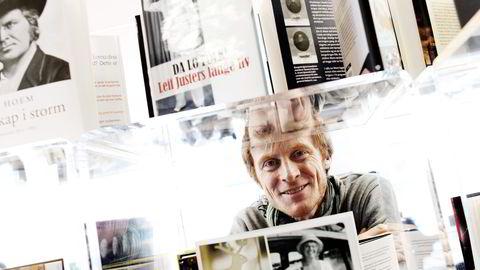 STOPP. Samlaget-sjef Edmund Austigard trekker bøkene til Ragnar Hovland og Jon Fosse fra Storytel. Foto: Erlend Aas,